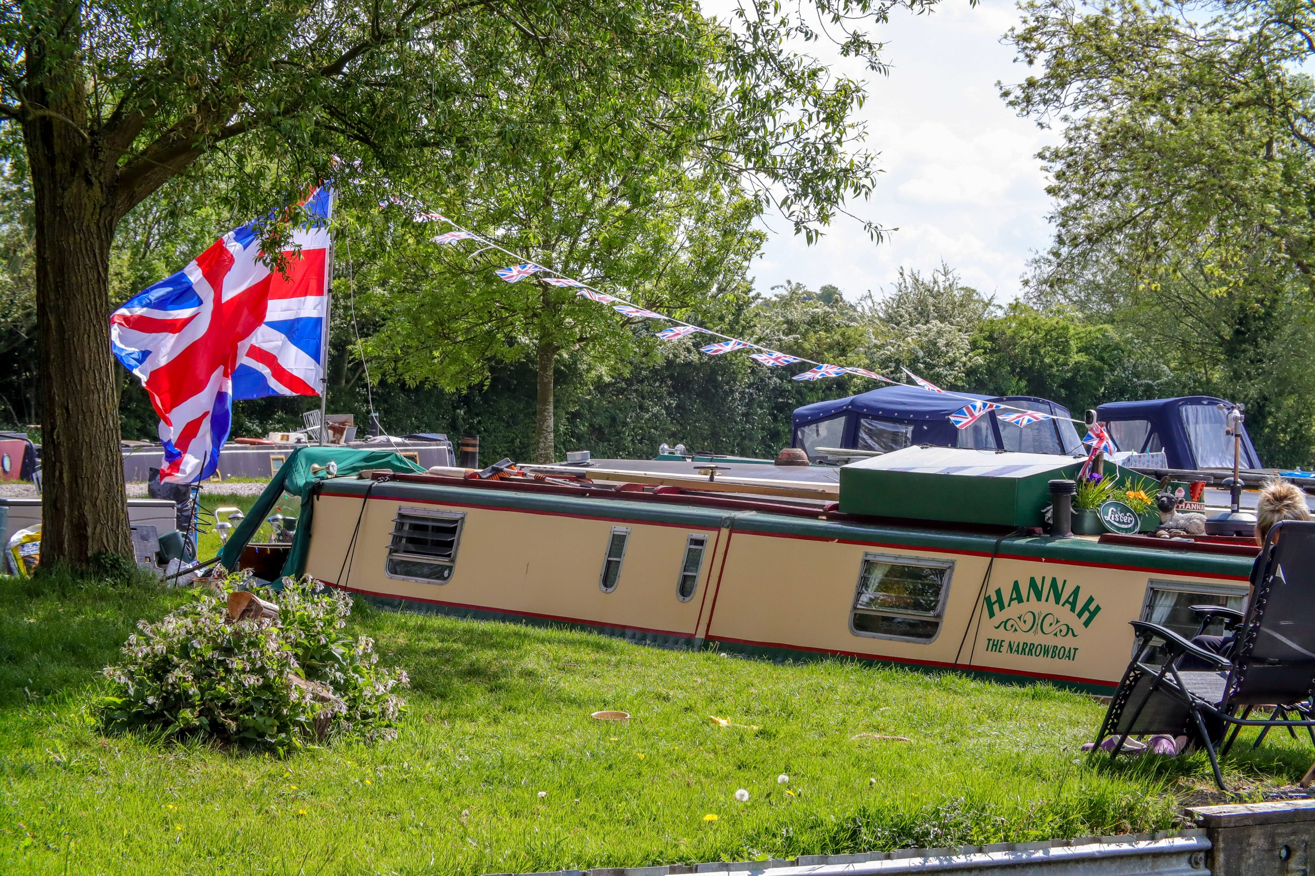 Narrow Boat Union Jack