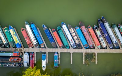Flying Above the Marina – An Aerial Photoshoot